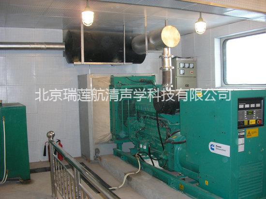柴油发电机组噪声治理