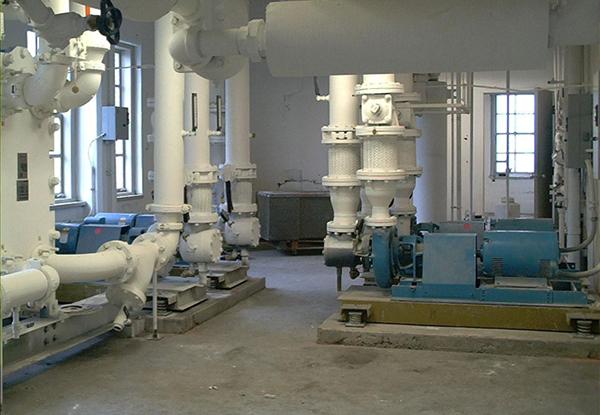 水泵减震降噪